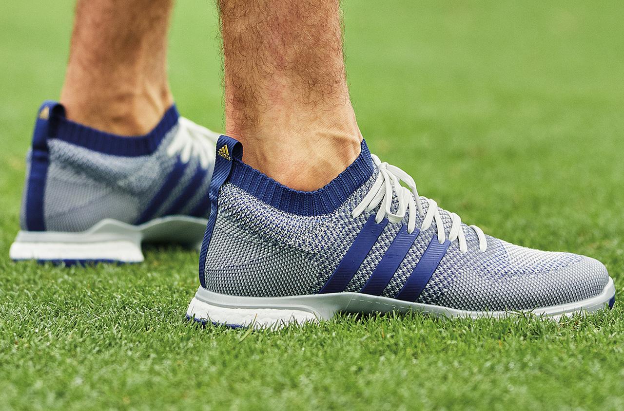 Adidas Tour360 Knit šedo fialová barva
