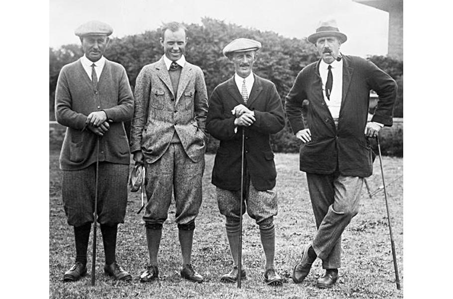 Jak se obléci na golf 1920