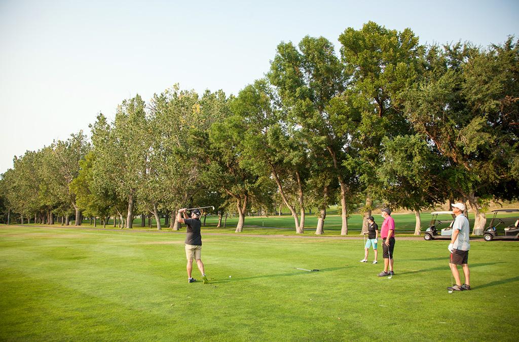 Jak hrát golfový scramble