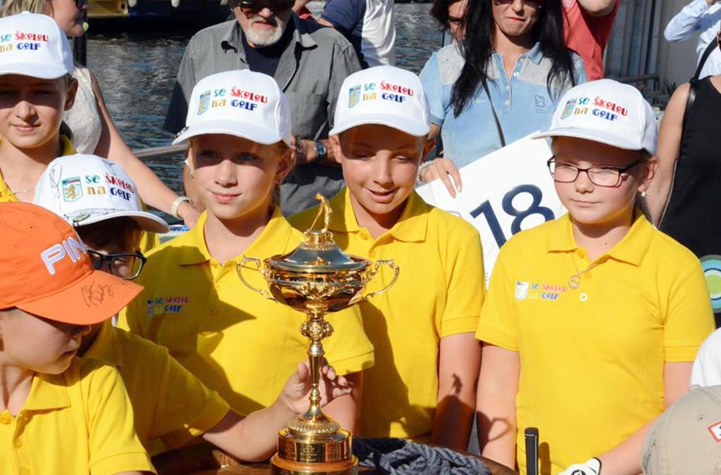 Se školou na golf - golfové soutěže a turnaje pro děti