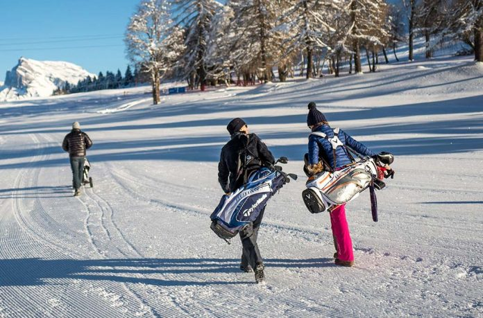 Zimní golfové boty