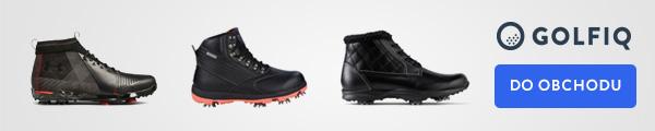 Zimní obuv na golf slevy