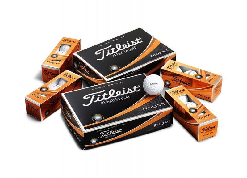 Golfové míčky Titleist