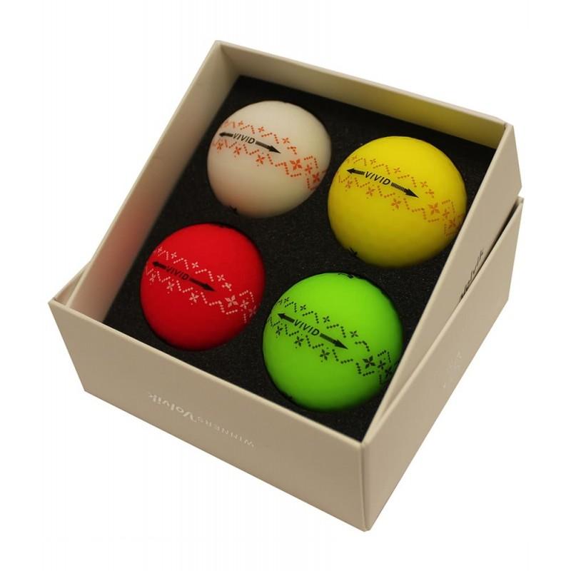 Dárkové balení golfové míčky